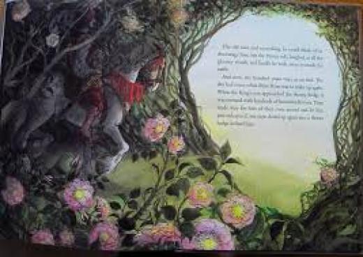Sleeping Baeauty illustration by Trina Schart Hyman