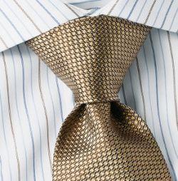 windsor tie knot