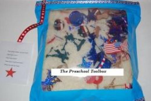 Memorial Day I-SPY Bags