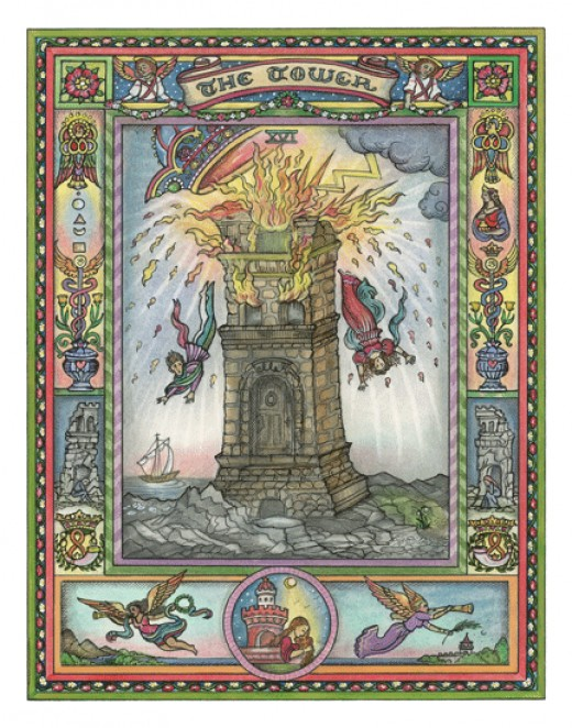 The Tower by Kim Waters, image linked to her website