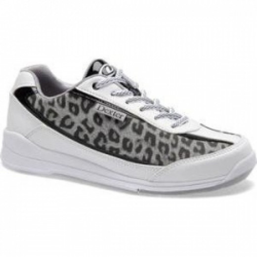 Women's Funky Cheetah Animal Print Bowling Shoes
