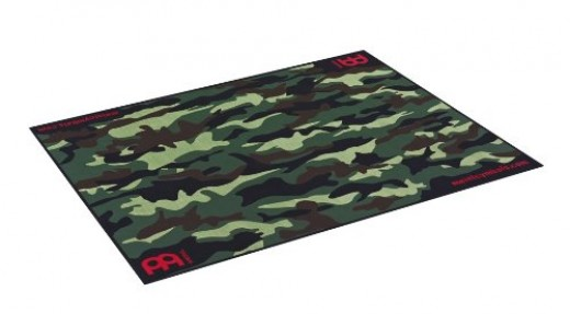 Green Military Camo Area Rug
