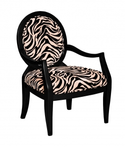 Image credit: Amazon.com. The zebra print arm chair shown here is available below.
