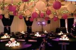 Cheap Wedding Ceiling Ideas Using Paper Lanterns