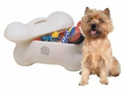 Bone Shape Toy Boxes for Dogs & Dogs Toy Chests