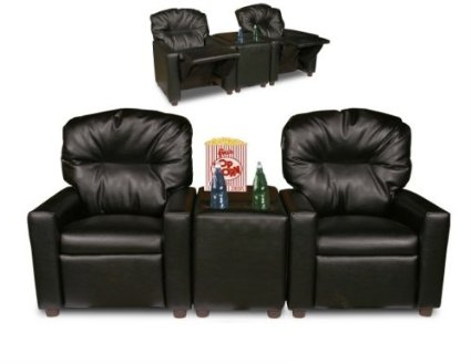Kids' Recliners with Cup Holder Table.