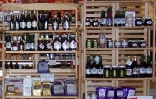 Huckleberry Products at Tastes of Idaho