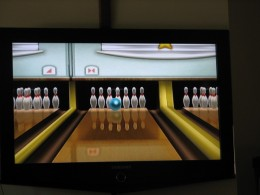 Wii technology has made it possible for Mom to bowl again.
