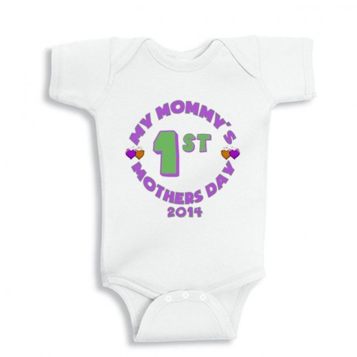 My Mommy's first mother's day baby onesie