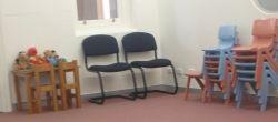 waiting room at eye hospital