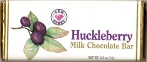 Huckleberry Milk Chocolate Bar