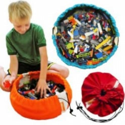 Swoop Bag LEGO Storage Bags - Made in USA Organizer for Small Toys