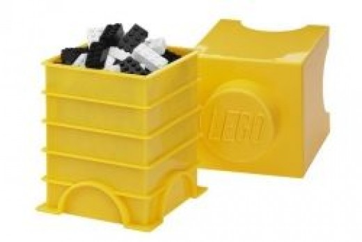 LEGO® Storage Brick 1, Yellow