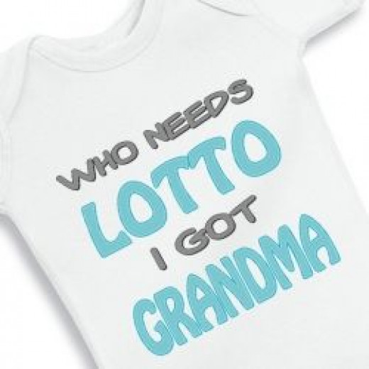 Who needs lotto I got grandma