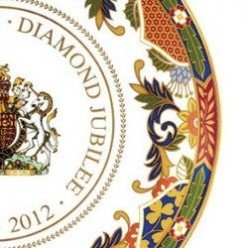 Royal Worcester China for the Queen's Diamond Jubilee