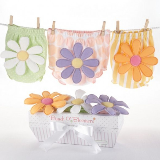Bunch O Bloomers Three Bloomers for Blooming Bums 3 - Baby shower gift