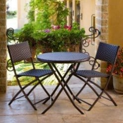 5 Stylish 3-Piece Patio Bistro Sets