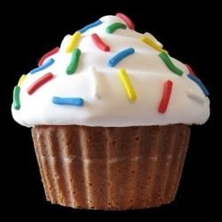 Giant Vanilla Cupcake