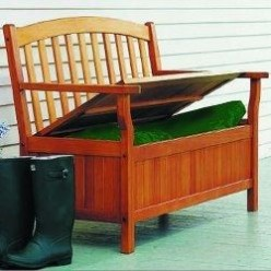 Space-Saving Patio Storage Bench Seats