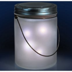 Magical Flickering Lights in a Jar