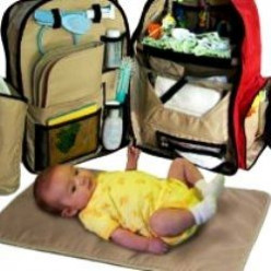 Okkatots Travel Baby Backpack Diaper Bag