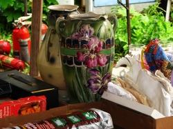 Beautiful antique vase up for sale