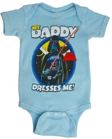 My Daddy Dresses me baby onesie