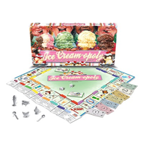 Ice Cream Monopoly, and other ice cream games.