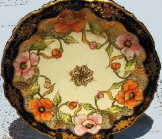 Early 1900's Nippon Platter