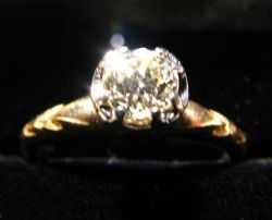 Victorian 1/2 carat diamond ring. Bought $400. Sold $800.