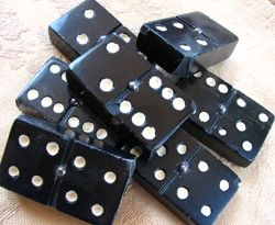 Dominoes by Diane Cass