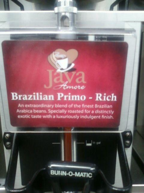 Love's Truck Stop - Java Amore's Brazilian Primo Rich