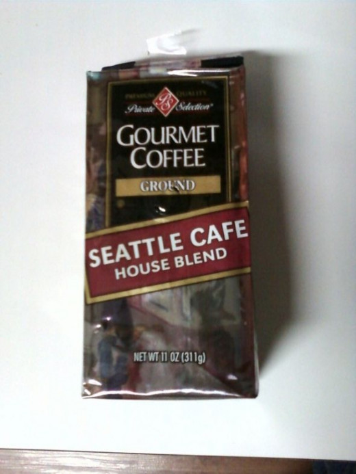Seattle Cafe House Blend from Kroger Grocery Store Chain!