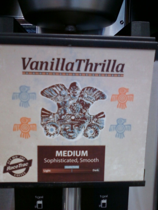 Race Trac's Vanilla Thrilla Medium Blend