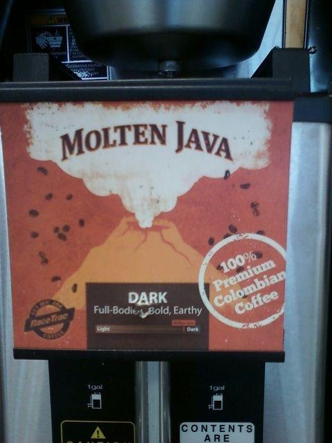 Race Trac's Molten Java