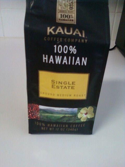 Kauai Medium Roast Single Estate Blend