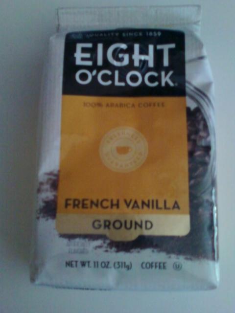 Eight O'Clock Coffee - French Vanilla Blend