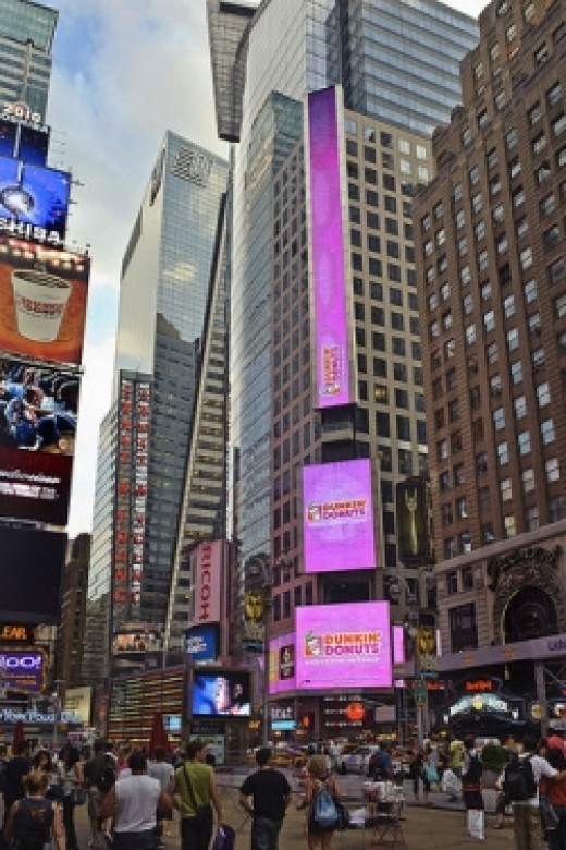 Dunkin' Donuts Time Square