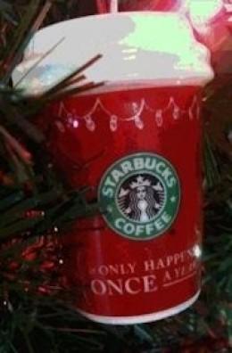 Starbucks ornament