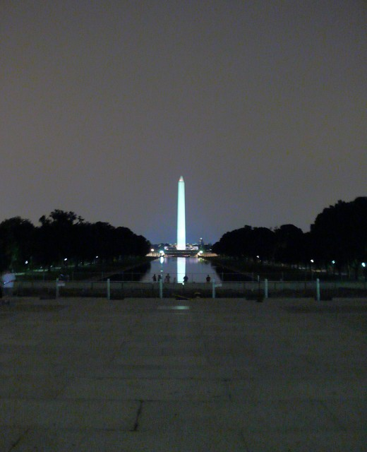 Washington DC Mall and reflecting pool