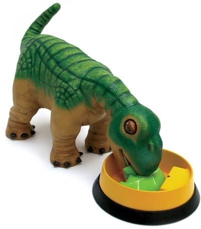 Just like any other pet, Pleo needs food!