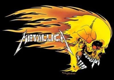 Metallica's Skull Flame Logo