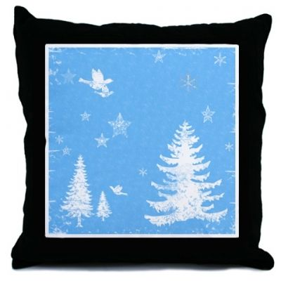 Instantly change the look of your room with this festive throw pillow!