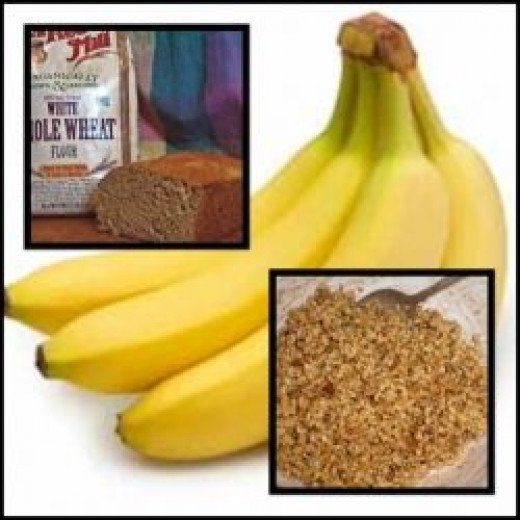 The Healthy components of banana bread