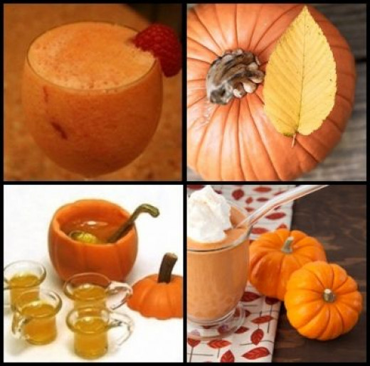 To make you Thirsty of Pumpkin Juice