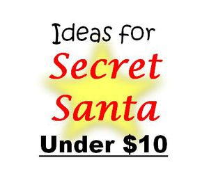 Ideas for Secret Santa Under $10
