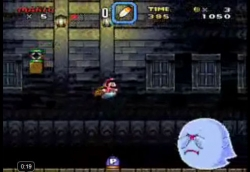 Super Mario World Ghost House