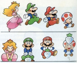 Super Mario Bros 2 artwork