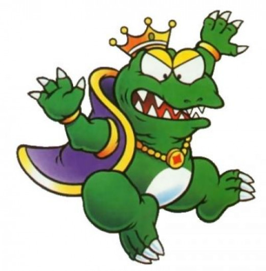 The evil King Wart, the main and final villain in the game.