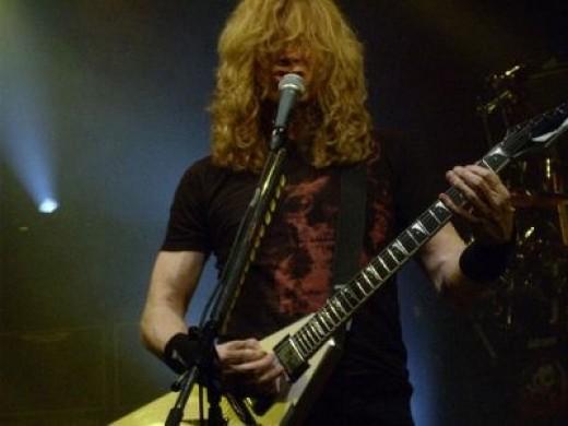Dave Mustaine ala Macumba Madrid , February 29, 2008